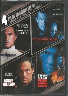 4 Film Favorites: Steven Seagal (DVD, 2007, 2-Disc Set)  Steven Seagal