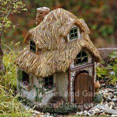 Miniature Fairy Houses & Cottages   Resin Miniature Garden Houses