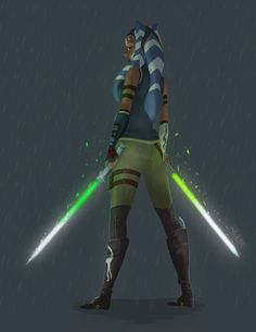 Ahsoka Tano... Her journey would be on another path.