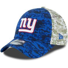 8af1371ca6f Men s New York Giants New Era Royal Camo Salute to Service On-Field 39THIRTY