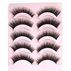 Cheap health cup, Buy Quality lash comb directly from China lash perm Suppliers: 3 pairs /set 3D Cross Thick False Eye Lashes Extension Makeup Super Natural Long Fake Eyelashes JNGUSD 2.29/set1 Pair of