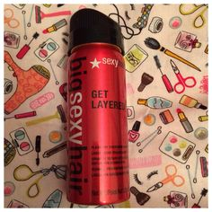 From Ipsy: Big Sexy Hair hair spray.