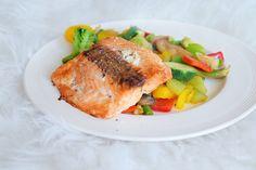 ❤️ Airfryer Woensdag ;; Zalmfilet uit de airfryer Salmon Burgers, Quinoa, Slow Cooker, Turkey, Meat, Chicken, Ethnic Recipes, Food, Omega 3