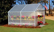 Pssst! Want a cheap greenhouse? How does $50 sound? If you wanta greenhouse but don't want to spend a lot with buying one,build your own! You can build the one featured herevery inexpensively by recycling and looking for scrap materials you might have from previous projects. And even if you decide to buy brand new materials for it, you'd still be spending a lot less than buying a greenhouse. This DIY greenhouse is a great way to extend the growing season and protect your produce fr...
