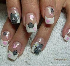 Tatty Teddy en tu manicure !!! :)