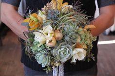 Succulent bouquet...gorgeous!