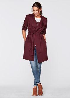 Płaszcz shirtowy, długi rękaw Z • 129.99 zł • bonprix