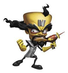 Neo Cortex is both Crash Bandicoot's creator and arch-nemesis. Game Crash Bandicoot, Crash Bandicoot Characters, Crash Bash, Crash Team Racing, Game Over Screen, Evil Witch, Dog Artwork, Baroque Art, Skylanders