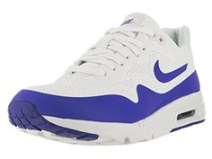 cc34e30edad4 Nike Women s Air Max 1 Ultra Moire Summit White Racer Blue White Running  Shoe 5 Women US