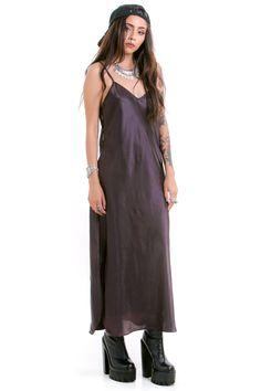 Vintage Cosmic Dancer Slip Dress - OSFM
