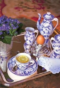 Story || An English Manor || Tea