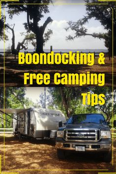 Find out how to find boondocking / free camping locations, how to get water, how to handle your holding tanks (dumping tanks), how to deal with lack of electricity, and more.