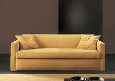 Sofa bed / contemporary / velvet / 2-seater GARDA by Paolo Salvadè Pol 74