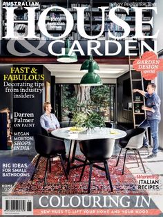 Australian House & Garden Magazine releases its #June2015Issue  with the news/articles on Garden & Bathroom design ideas and #ItalianRecipes .  #AustralianHouseandGarden‬
