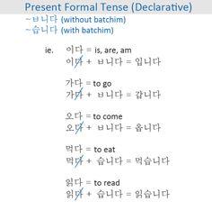 Korean Sentence Structure Gallery