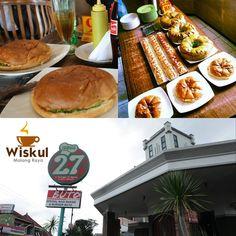 Wisata Kuliner Malang Raya Burger Buto dengan alamat lokasi di Jalan Sarangan 27, Malang menawarkan aneka burger dengan ukuran yang sangat besar dan rasanya sangat istimewa.  Kalau mau mencicipi sebaiknya jangan berkunjung di hari Senin karena rumah makan ini tutup. Sebaliknya, datang saja di hari Selasa sampai Minggu di antara jam 11.30 dan 21.00 WIB. Khusus untuk hari Jum'at, Kedai 27 yang menjual aneka burger unik itu baru buka mulai pukul 12.30 sampai 21.30.
