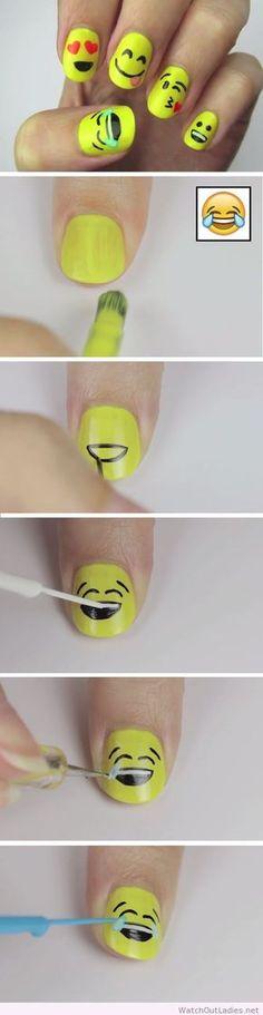 Haaaaa!!!!!! Je veux faire ce vernis à ongle