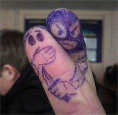 Prise d'otage des doigts