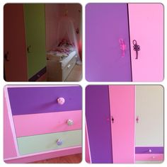 Re-designed this for my daughters room. Colorful