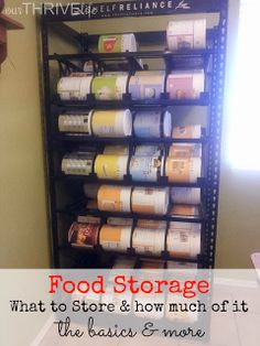 """Once you've figured out the need for food storage and why it's important even if your not a """"prepper"""" now comes the challenging part: what to store. Should you stock up at the grocery store the next time Ramen is on sale? What about produce? How will you ensure your family is eating a balanced diet? Below are some quick guidelines for the bare minimum (survival mode not thriving) that I've put together from several resources."""