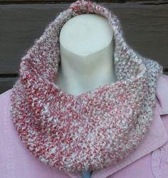 Pink Cream Parfait Cowl Fingerless Glove Set Women by stinkR, $30.00