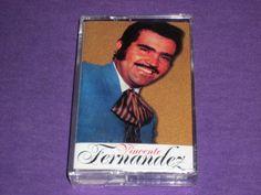 Vincente Fernandez - Rare Factory Sealed Cassette Tape - Desvelo De Amor - Santa