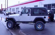 Jeep 2 Piece LJ Unlimited Hardtop