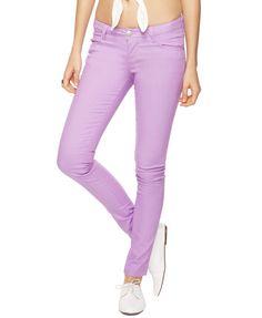 forever21 lavender skinny jeans <3 $15.50