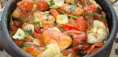 INGREDIENTES  Tempo de preparo 2h 00min Rendimento 6 porções 3 dúzias de caranguejo limpos (sem carapaça) 200 g de alho picado 8 cebolas ...