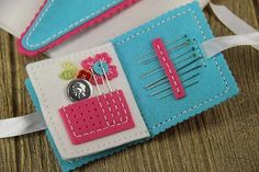 Sewing Staples: Needle Book } Papertrey Ink