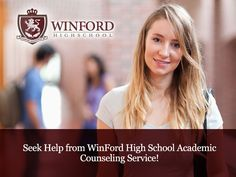 WinFord High School – offers free Academic Counseling Services to all graduates