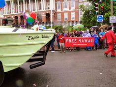 Free Hawai`i At The Boston Pride Parade