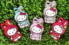 Cute Hello Kitty Rabbit Silicone Mobile Case for iPhone 6 Plus is an adorable item to protect and carry your cell phone ina super kawaiistyle!