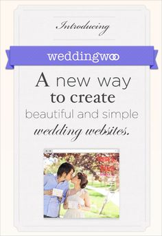 wedding websites from Wedding Woo