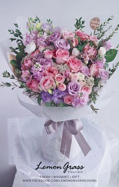 Beautiful Bouquet Of Flowers, Flowers For You, Beautiful Flower Arrangements, Bunch Of Flowers, Pretty Flowers, Floral Arrangements, Floral Centerpieces, Flower Shop Design, Flower Box Gift