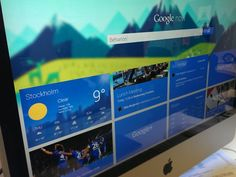 Google Now by Emil Widlund