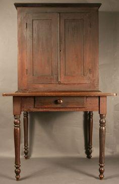 8: Middle TN postmaster desk, original surface : Lot 8