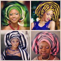 nigerian headtie styles
