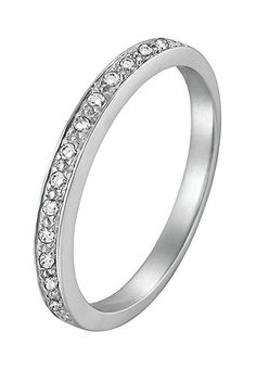Diamond Line Damen Verlobungsring Gold Diamantring 585 7 Diamanten 0