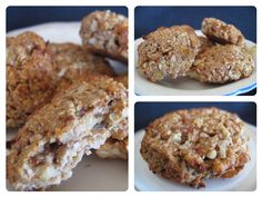 "Apple cinnamon cookies – a healthy paleo snack – Living for life Rather than forming into patties, I spread out on a couple of baking sheets to dry in clusters. It makes a great ""cereal"" that the kids love."