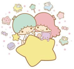☆ Little Twin Stars ★ #Kawaii #Draw #Illustration