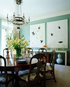 timothy whelan dining room | The Estate of Things | Flickr