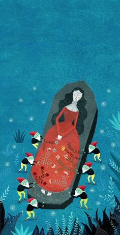 Blancanieves de Mariana Ruiz Johnson Illustrations: mayo 2015