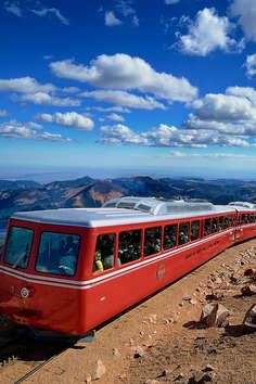 The Pikes Peak Cog Railway holds a unique distinction as the highest cog railway in the world. Wonder how this legendary Pikes Peak train came to take visitors to the top of America's Mountain? One of the tourists who visited the Pikes Peak region in the late 1880s was Zalmon Simmons, inventor and founder of the Simmons Beautyrest Mattress Company. Mr. Simmons rode to the summit of Pikes Peak on a mule. The arduous, two day trip was the only way to reach the top in those days. Mr. Simmons…