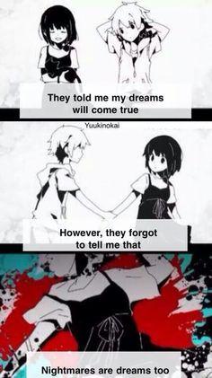 Me dijeron que mis sueños se harán realidad. Lo que no me dijeron es que las pesadillas también.