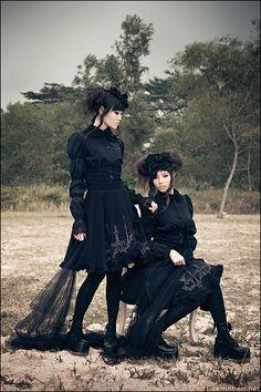 gothic lolita #Harajuku