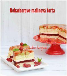 .. chute a vône mojej kuchyne...: Rebarborovo-malinová torta