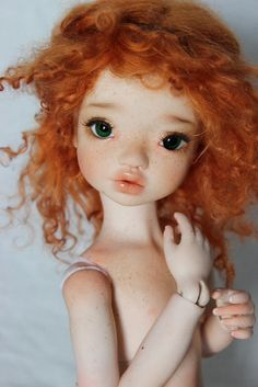 OOAK Full Body Blushing and Faceup by Mjusi...Elleki MSD BJD by MeadowDoll
