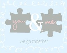 But do it with real puzzle pieces and frame it . . . :)