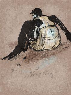 Castiel #supernatural #fanart  artist: http://matisschaga.tumblr.com/post/77572888981/1-20